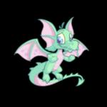 pastel draik