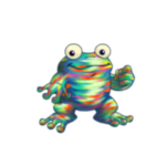 oil paint quiggle